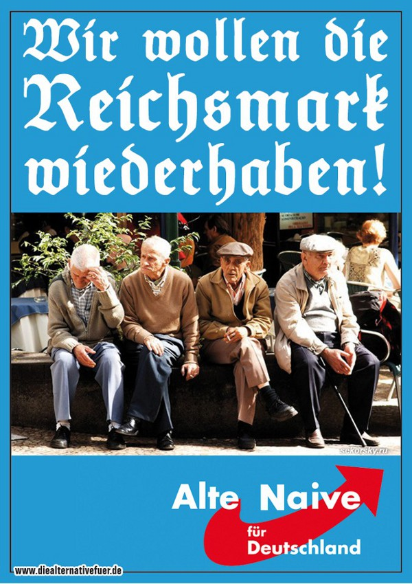 Alte Naive Deutschland
