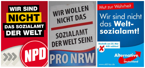 Wahlkampf rechter Parteien in Bochum - Finde den Unterschied