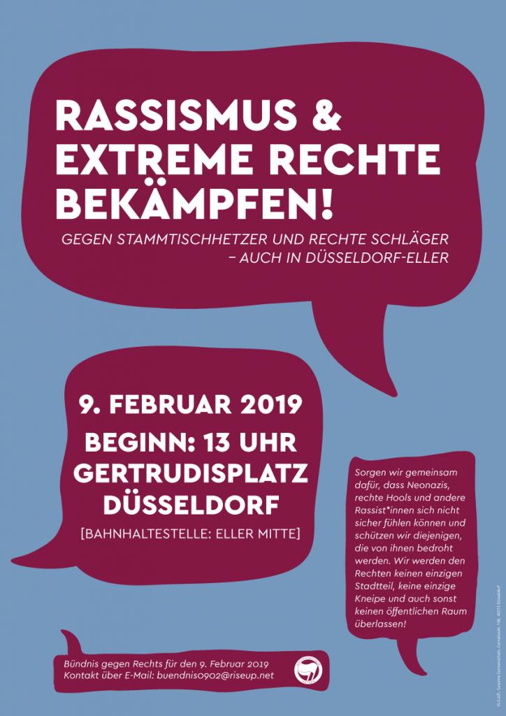 Gemeinsame Anreise von Bochum nach Düsseldorf am 09.02.2019