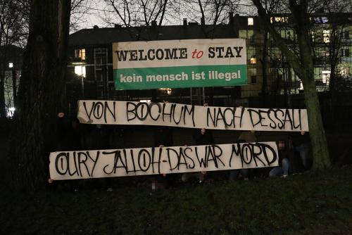 Oury Jalloh - Das war Mord (Bild: Januar 2019 in Bochum)